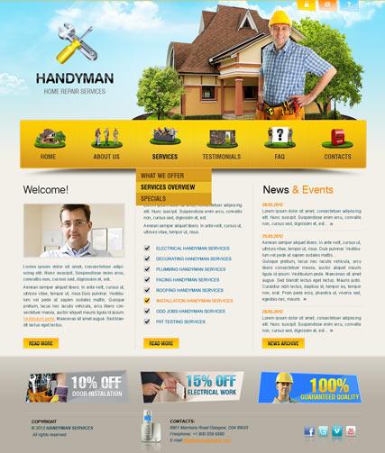 home repair template