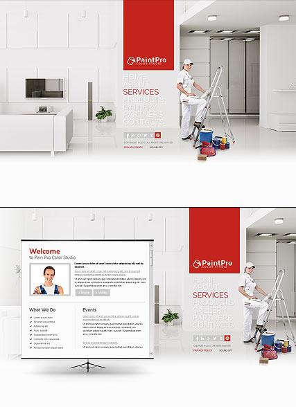 Interior Design - Website Templates