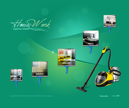 HouseWork - Easy flash templates