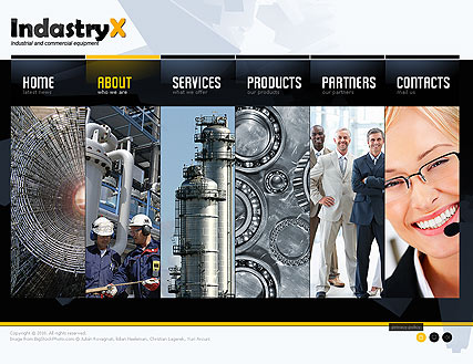Industry - Easy flash templates