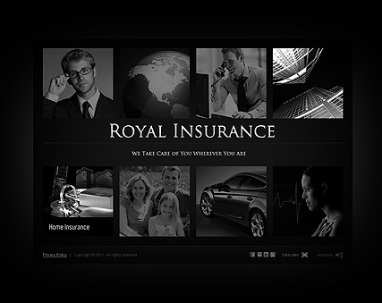 Insurance Company - Easy flash templates