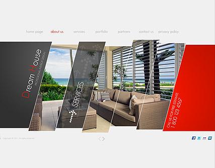 interior design easy flash templates