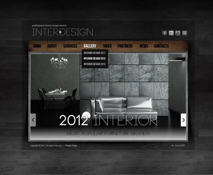 Interior Design   HTML5 Gallery Admin