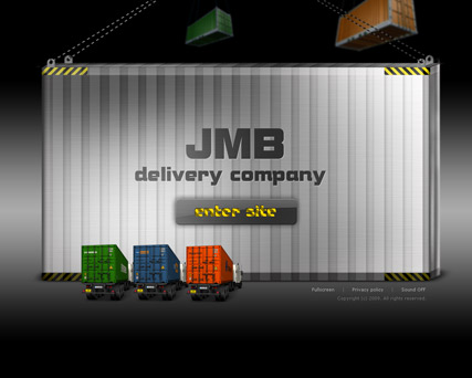 JMB Delivery co. - Easy flash templates