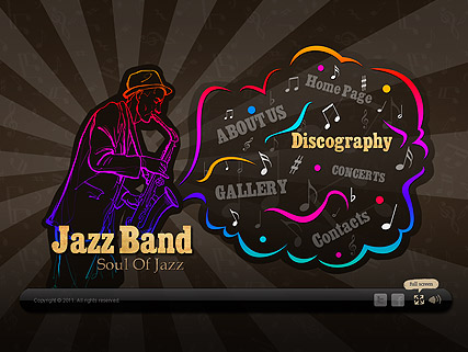 Jazz Band - Easy flash templates