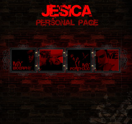Jesica - Flash template