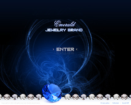 Jewelry brand - Easy flash templates