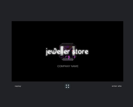 Jewelry - Flash intro template