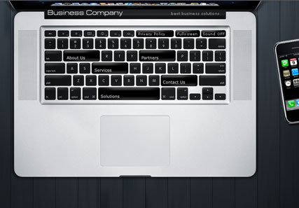 Laptop business - Easy flash templates