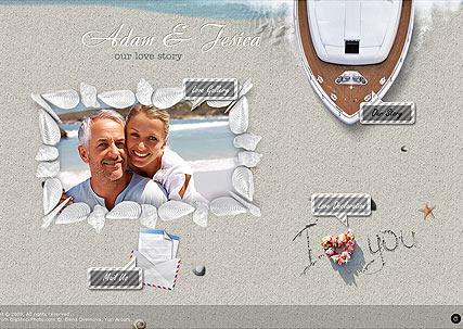 Love Story - Easy flash templates