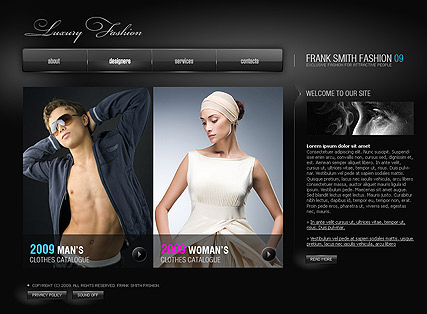 Luxury Fashion - Easy flash templates