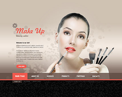Make Up Studio - Easy flash templates