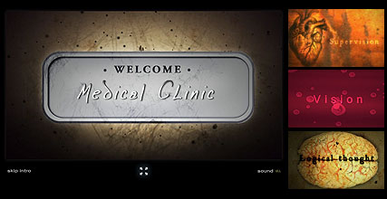 Medical Clinic - Flash intro template