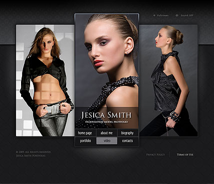 Models folio - Easy flash templates