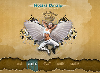 Modern Dancing - Easy flash templates