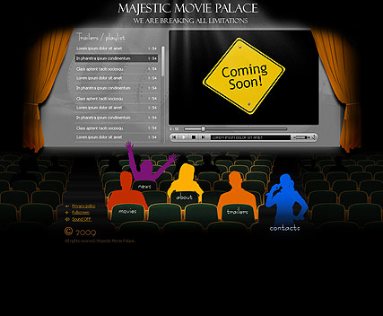Movie Palace - Easy flash templates