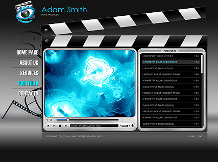 Movie producer - Easy flash templates