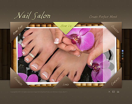 Nail Salon - Easy flash templates