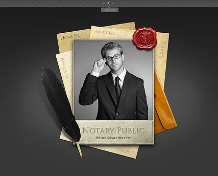 Notary Public - Easy flash templates