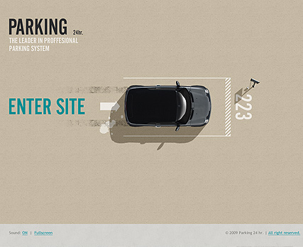 Parking 24h. - Easy flash templates