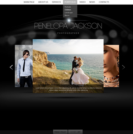 Personal - HTML5 Gallery Admin