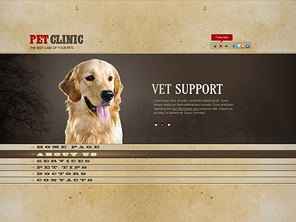 Pet Clinic - Easy flash templates