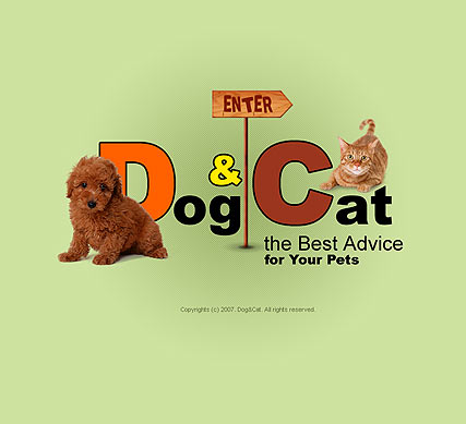 Pet products - Flash template