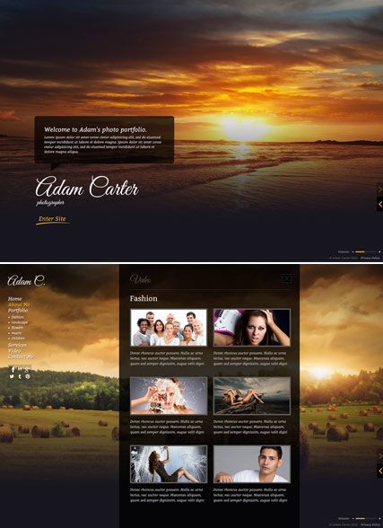 Photo Gallery - HTML5 Gallery Admin