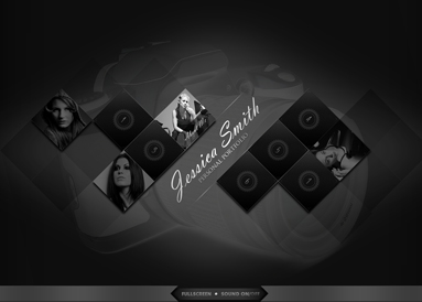 Photo Portfolio - GalleryAdmin flash templates