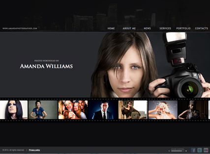 Photographer - HTML5 templates