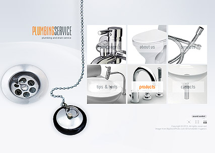 Plumbing Service - Easy flash templates