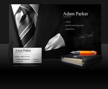 Private Lawyer - Easy flash templates