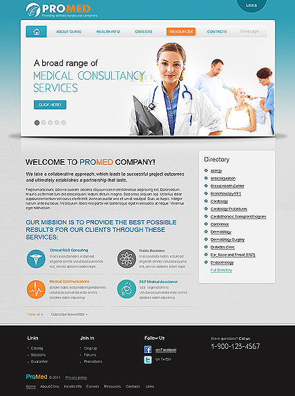 Pro Medical - HTML template