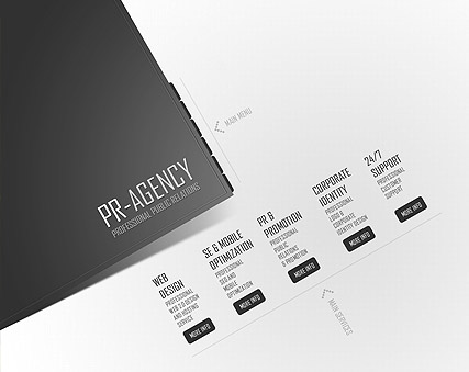 Public Relations - Easy flash templates
