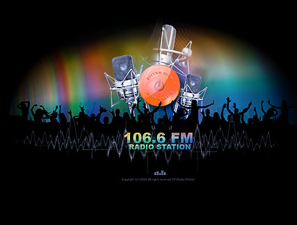 Radio 106.6 - Easy flash templates