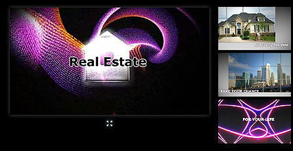 Real Estate - Flash intro template