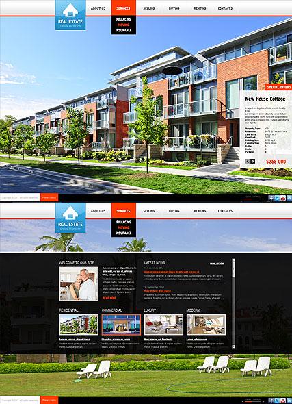 Realtor Website Templates. 40 best real estate wordpress themes ...