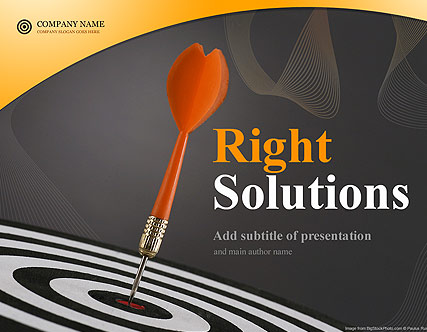 Right Solutions - Powerpoint templates