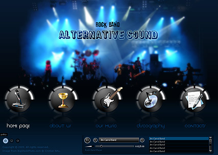 Rock Band - Easy flash templates