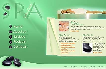 SPA - Flash template