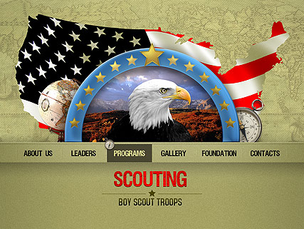 Scouting - Easy flash templates