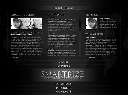 Smart Business - Easy flash templates