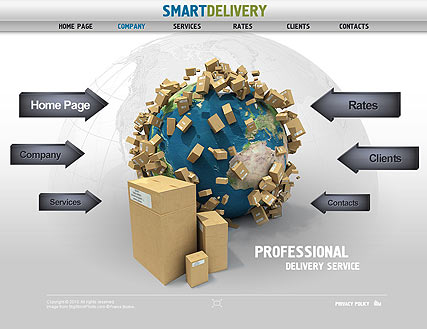 Smart Delivery - Easy flash templates