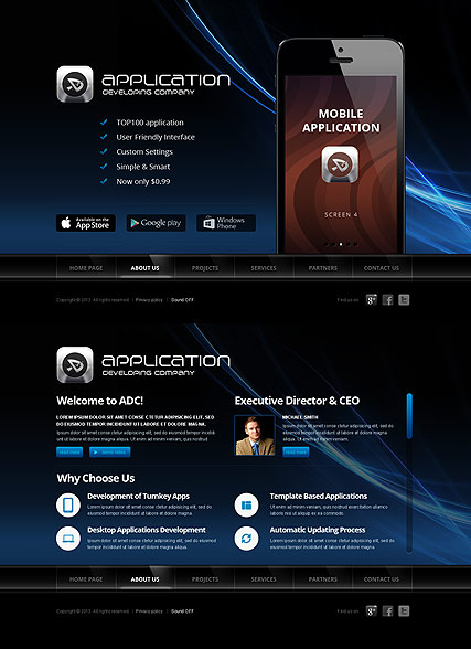 Software Developer - HTML5 templates