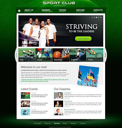 Sports Web Templates. sports templates. sports website templates ...