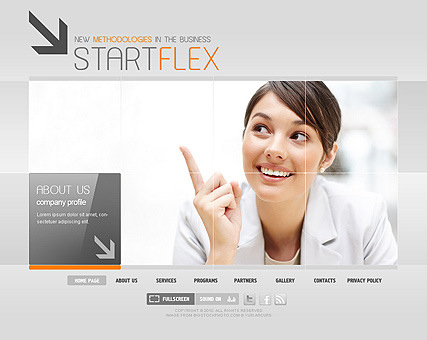 Start Business - Easy flash templates