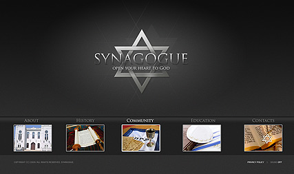 Synagogue - Easy flash templates
