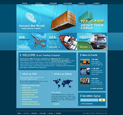 Web Templates | Website templates