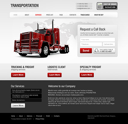 Car Templates - Website Templates
