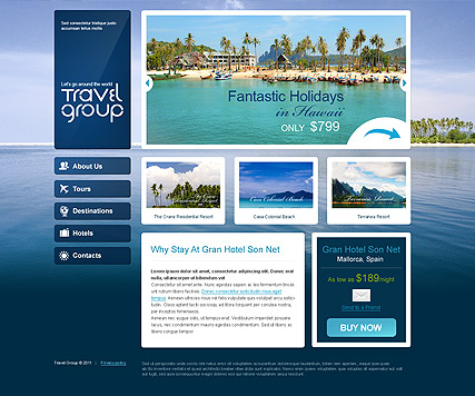 Travel - HTML template